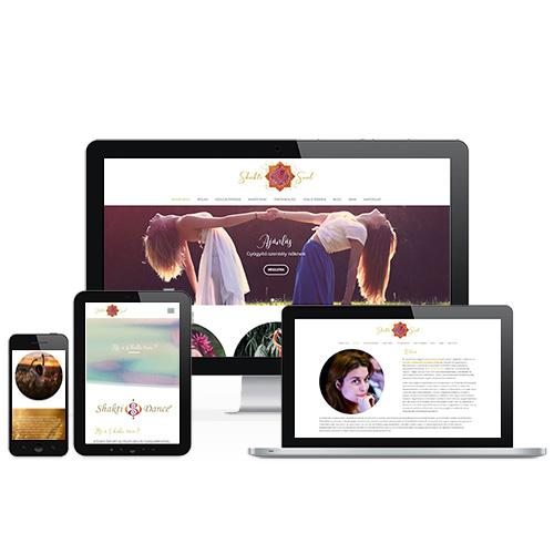 Shakti Soul weboldal referencia