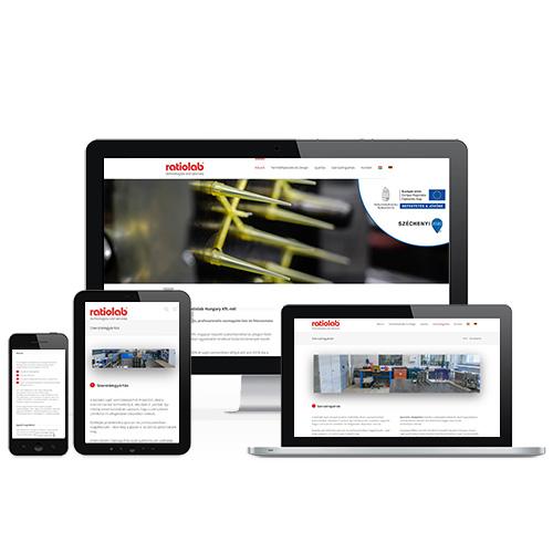 Ratiolab weboldal referencia