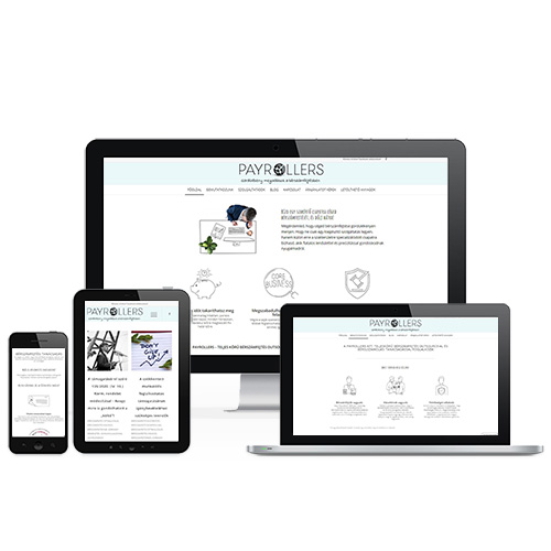 Payrollers weboldal referencia