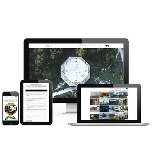LoBo Építész Stúdió weboldal referencia