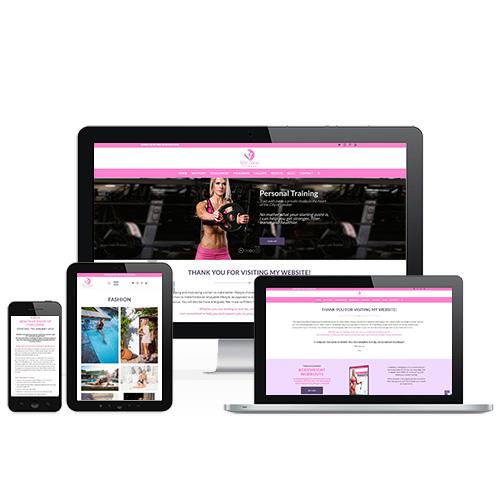 Kitti Savai Fitness weboldal referencia