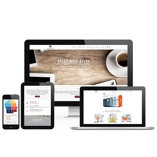 Interstand weboldal referencia