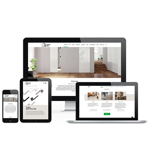 Centro Casa weboldal referencia