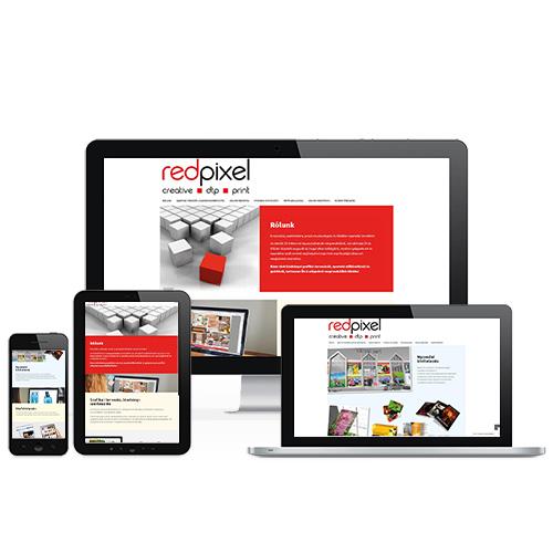 Red Pixel weboldal referencia