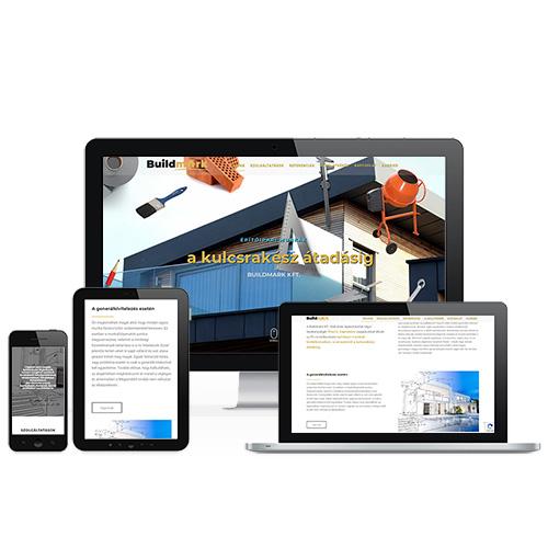 Buildmark weboldal referencia