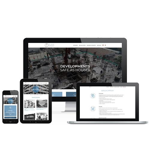 Duna Consult weboldal referencia