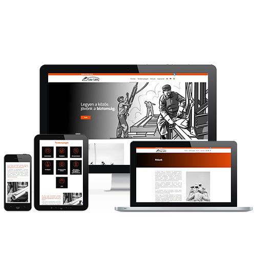 Solarsafety weboldal referencia